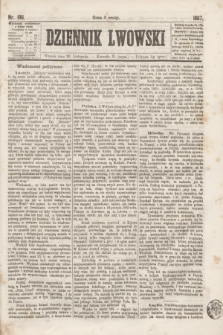 Dziennik Lwowski. [R.1], nr 196 (26 listopada 1867)