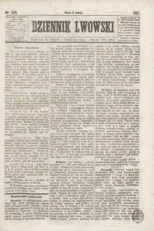 Dziennik Lwowski. [R.1], nr 200 (30 listopada 1867)
