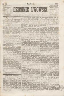Dziennik Lwowski. [R.1], nr 203 (4 grudnia 1867)