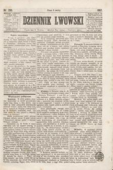 Dziennik Lwowski. [R.1], nr 205 (6 grudnia 1867)