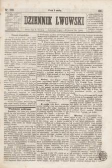 Dziennik Lwowski. [R.1], nr 206 (7 grudnia 1867)
