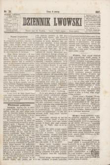 Dziennik Lwowski. [R.1], nr 211 (13 grudnia 1867)