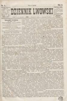 Dziennik Lwowski. R.2, nr 2 (3 stycznia 1868)