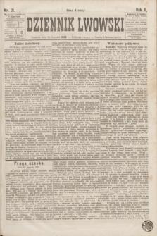Dziennik Lwowski. R.2, nr 21 (26 stycznia 1868)
