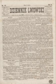 Dziennik Lwowski. R.2, nr 43 (21 lutego 1868)