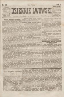 Dziennik Lwowski. R.2, nr 58 (10 marca 1868)