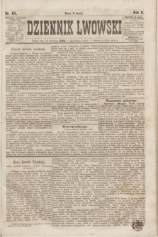 Dziennik Lwowski. R.2, nr 84 (10 kwietnia 1868)