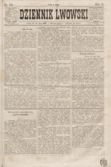 Dziennik Lwowski. R.2, nr 124 (29 maja 1868)
