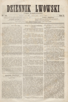 Dziennik Lwowski : Organ demokratyczny. R.2, nr 154 (7 lipca 1868)