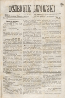 Dziennik Lwowski : organ demokratyczny. R.3, nr 153 (2 lipca 1869)
