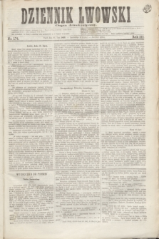 Dziennik Lwowski : organ demokratyczny. R.3, nr 174 (23 lipca 1869)