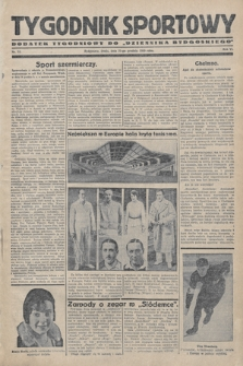 """Tygodnik Sportowy : dodatek tygodniowy do """"Dziennika Bydgoskiego"""". 1930, nr 53"""