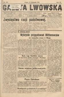 Gazeta Lwowska. 1931, nr275