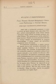 Dziennik Urzędowy Kuratorjum Okręgu Szkolnego Wileńskiego. R.10, nr 4 (1 kwietnia 1933)