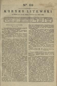 Kuryer Litewski. 1820, Ner 69 (9 czerwca) + dod.