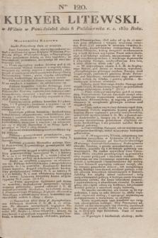 Kuryer Litewski. 1830, Ner 120 (6 października) + dod.