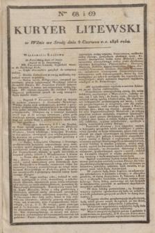 Kuryer Litewski. 1826, Ner 68/69 (9 czerwca) + dod.