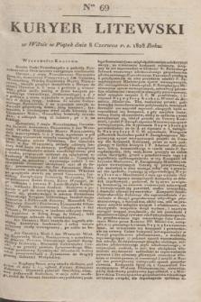 Kuryer Litewski. 1828, Ner 69 (8 czerwca) + dod.