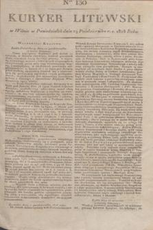 Kuryer Litewski. 1828, Ner 130 (29 października) + dod.