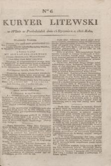Kuryer Litewski. 1824, Ner 6 (14 stycznia)