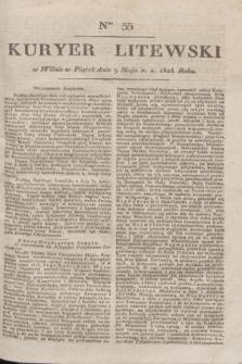 Kuryer Litewski. 1824, Ner 55 (9 maja) + dod.