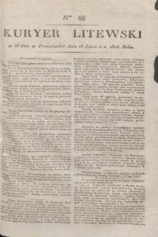 Kuryer Litewski. 1824, Ner 88 (28 lipca)