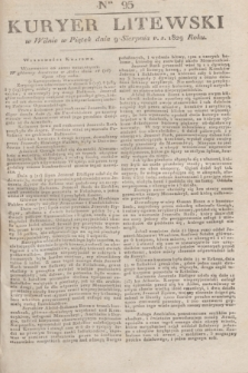 Kuryer Litewski. 1829, Ner 95 (9 sierpnia) + dod.