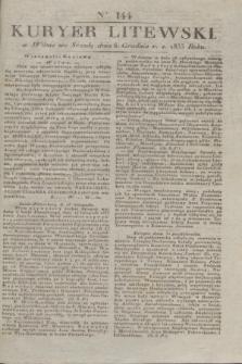 Kuryer Litewski. 1833, Ner 144 (6 grudnia) + dod.
