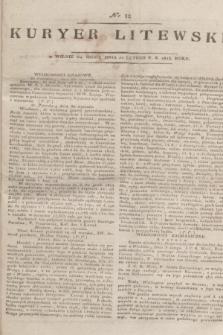 Kuryer Litewski. 1815, nr 12 (10 lutego)