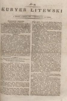 Kuryer Litewski. 1815, nr 45 (5 czerwca) + dod.