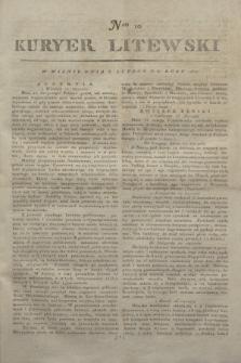 Kuryer Litewski. 1812, Nro 10 (3 lutego) + dod.