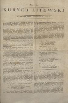 Kuryer Litewski. 1812, Nro 35 (1 maja) + dod.