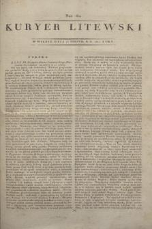 Kuryer Litewski. 1812, Nro 64 (15 sierpnia)