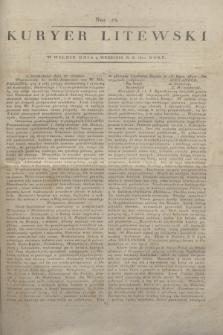 Kuryer Litewski. 1812, Nro 73 (9 września)