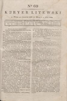 Kuryer Litewski. 1819, Ner 69 (27 marca) + dod.