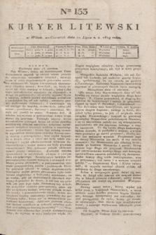 Kuryer Litewski. 1819, Ner 153 (10 lipca)