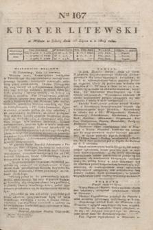 Kuryer Litewski. 1819, Ner 167 (26 lipca) + dod.