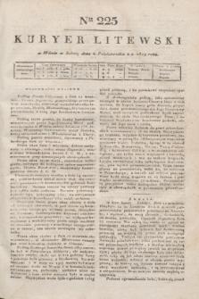 Kuryer Litewski. 1819, Ner 225 (4 października) + dod.