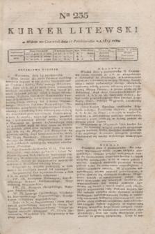 Kuryer Litewski. 1819, Ner 235 (16 października) + dod.