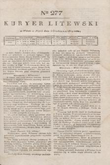 Kuryer Litewski. 1819, Ner 277 (5 grudnia)