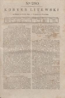 Kuryer Litewski. 1819, Ner 280 (10 grudnia)