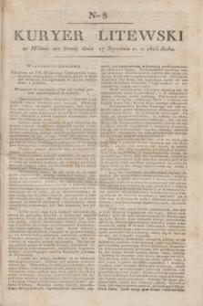 Kuryer Litewski. 1823, Ner 8 (17 stycznia) + dod.