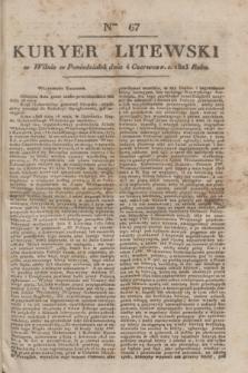 Kuryer Litewski. 1823, Ner 67 (4 czerwca)