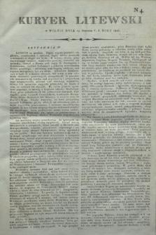 Kuryer Litewski. 1806, N. 4 (13 stycznia)