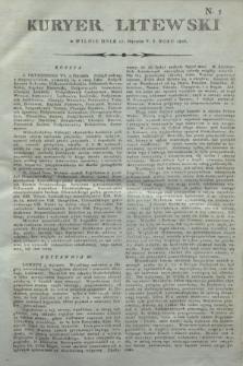 Kuryer Litewski. 1806, N. 5 (17 stycznia)