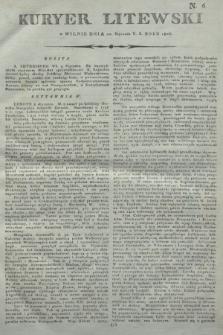 Kuryer Litewski. 1806, N. 6 (20 stycznia)