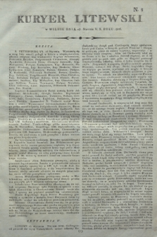 Kuryer Litewski. 1806, N. 8 (27 stycznia)