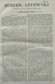 Kuryer Litewski. 1806, N. 20 (10 marca)