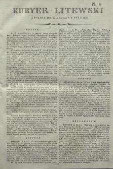 Kuryer Litewski. 1806, N. 27 (4 kwietnia)