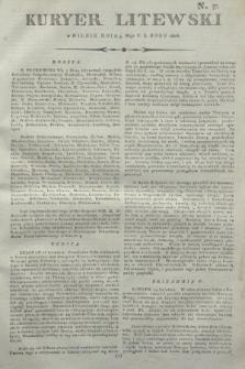 Kuryer Litewski. 1806, N. 37 (9 maja)